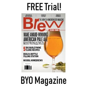 free byo brew your own magazine trial