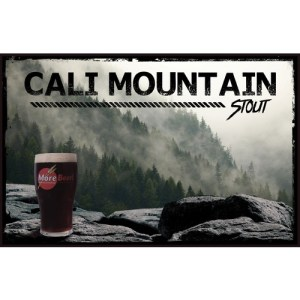 Sierra Nevada Stout Clone - Cali Mountain Stout