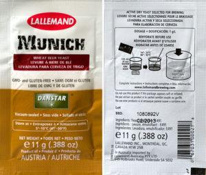 Danstar Munich Wheat Beer Dry Yeast