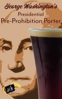 George Washington's Presidential Pre-Prohibition Porter Recipe Kit