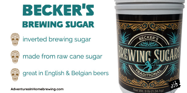 becker's brewing sugars