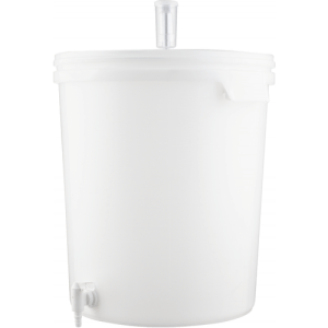 Plastic Bucket Fermenter With Spigot - 7.9 Gallons (30 L) FE357