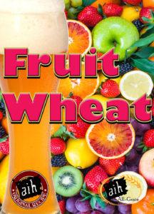 fruit wheat homebrew