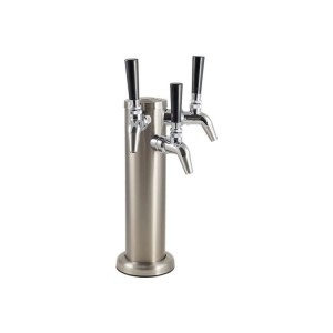 Intertap Stainless Steel Draft Towers (3 Tap) D1355