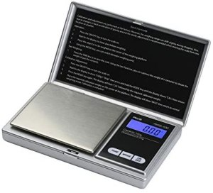 AWS Series Digital Pocket Weight Scale 100g x 0.01g, (Silver), AWS-100-SIL