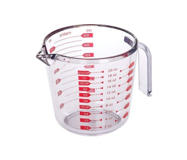 Progressive International Prepworks by Progressive Measuring 2.5 Cup Capacity, 1 Piece, Clear