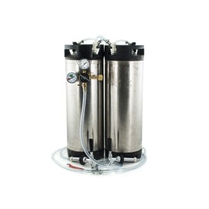 5 Gallon Ball Lock Keg System w/ 2 USED Kegs to Build Kegerator (#7)