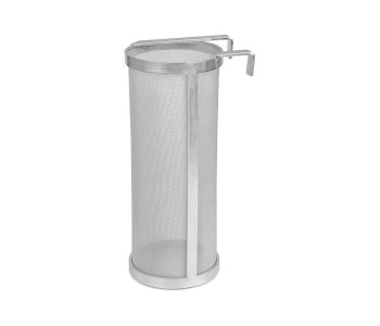 OFNMY 10 x 4 inches Hop Spider 300 Micron Stainless Steel Hop Filter Strainer for Home Beer Brewing Kettle