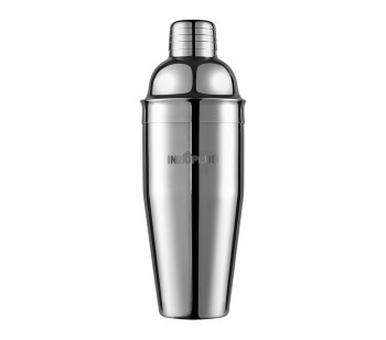 Cocktail Shaker, Martini Shaker Food Grade Stainless Steel, 25 Ounce(750ml) Drink Shaker, Professional Bar tools with Cocktail Strainer, Bartender Kit Gifts