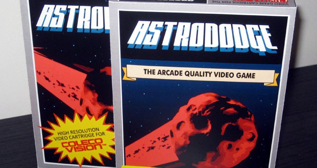 Astrododge Colecovision cartridge