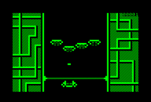 Avalanche for the Commodore PET (ingame)