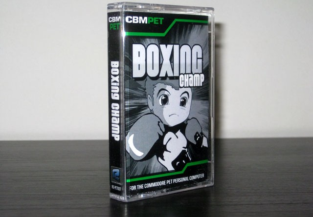 Boxing Champ for the Commodore PET Packaging