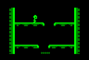 Down! for the Commodore PET (ingame)
