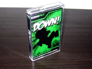 Down! for the Commodore PET packaging