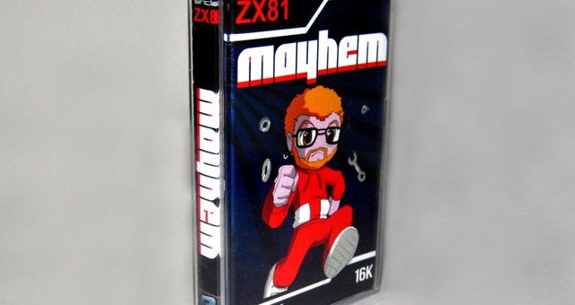 Mayhem ZX81 Packaging
