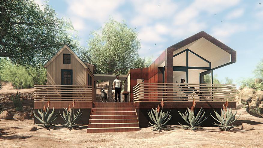 Arizona Custom Tiny Homes Compound