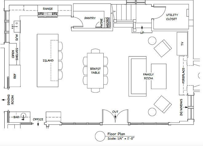 Best Kitchen Floor Plans