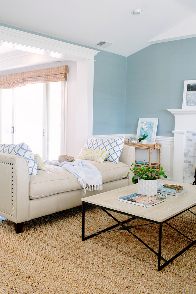 Blue Living Room Paint Color Wall Coastal. Interior Design Ideas Rita Chan  Interiors Home Bunch Part 71