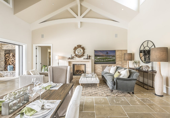 Napa Valley Farmhouse With Neutral Interiors Home Bunch
