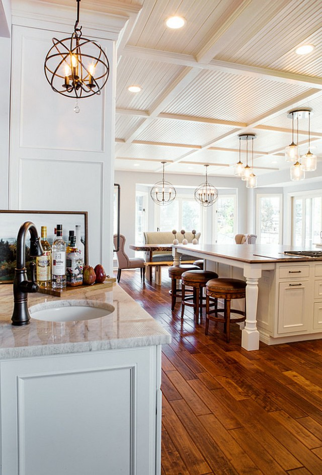 Large Kitchen Cabinet Layout Ideas - Home Bunch Interior ...