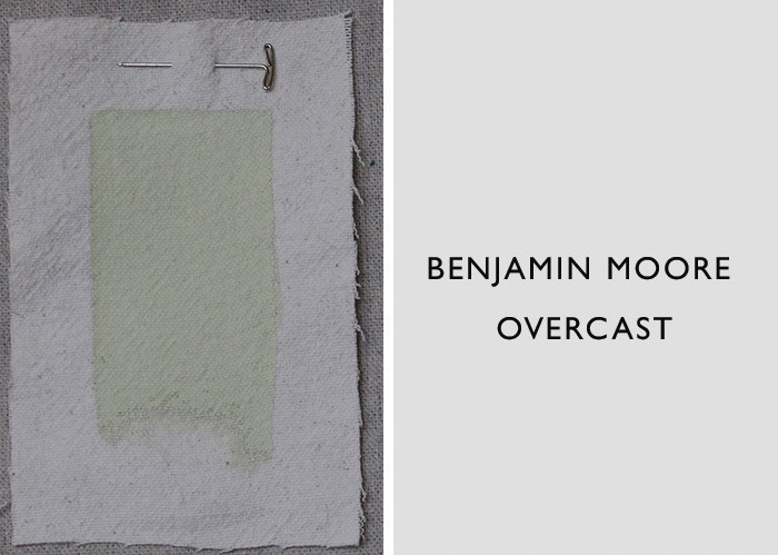 Best Jade and Celadon Green Paint Colors, Benjamin Moore Overcast