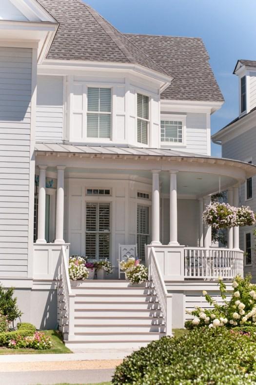 Beach House Coastal Paint Color Ideas Victorian Home Exterior Palette