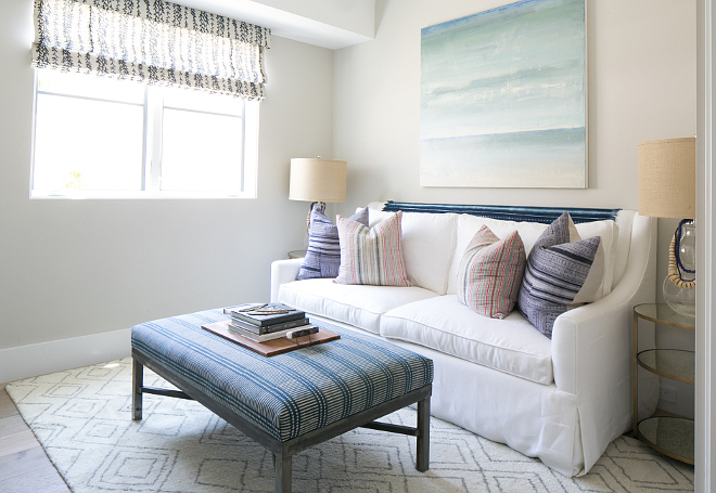 Multi-use rooms. This room doubles as a guest bedroom with a pullout sofa making this room a great place to lounge, work or sleep. Patterson Custom Homes