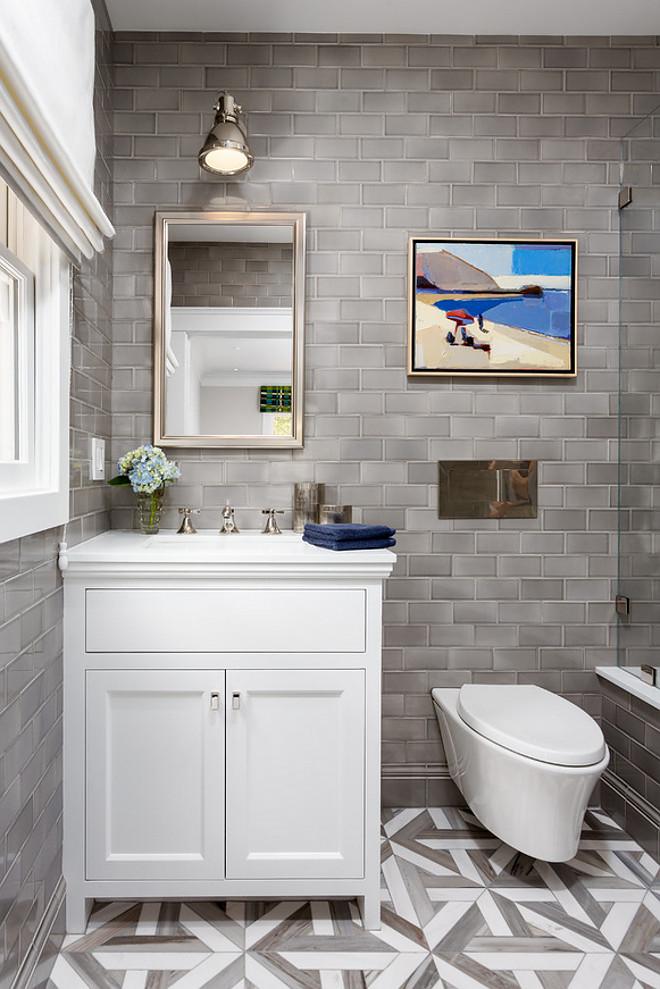 Paint Ideas For Bathroom With Grey Tiles