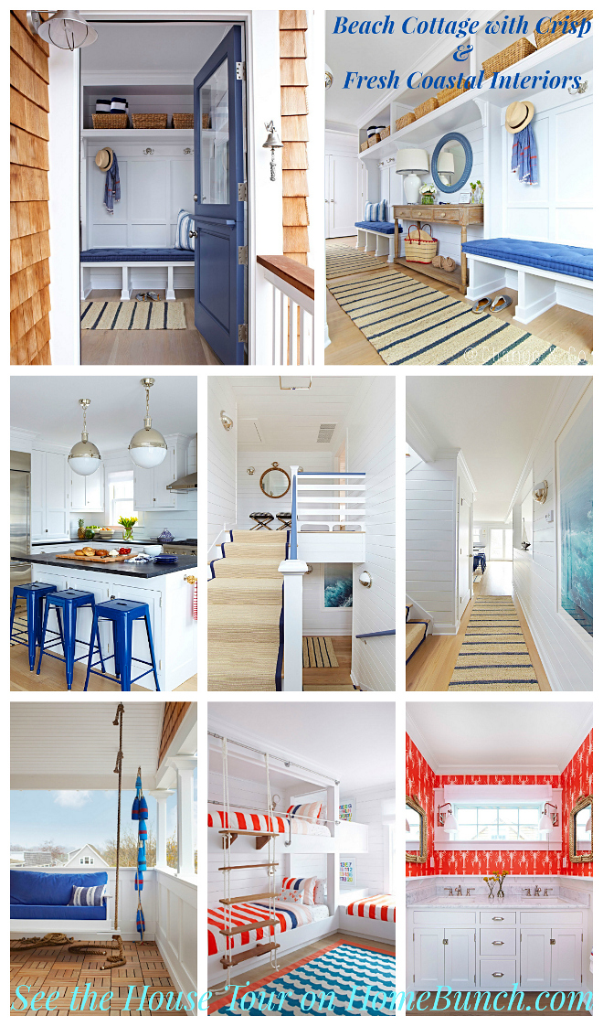 Beach Cottage with Crisp & Fresh Coastal Interiors. Beach Cottage with Crisp & Fresh Coastal Interior Ideas. Beach Cottage with Crisp & Fresh Coastal Interiors