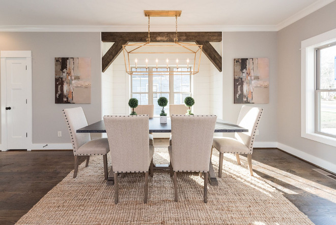 Newly Built Home With Farmhouse Inspired Interiors Home