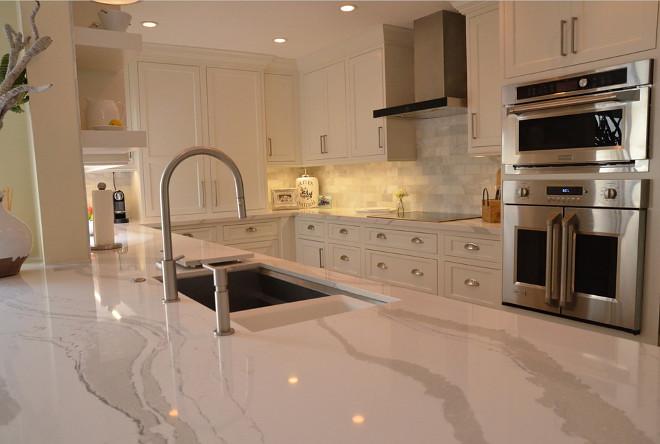 White Kitchen With Driftwood Peninsula Koby Kepert