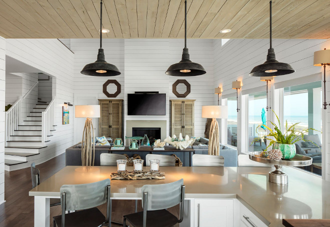 Coastal Farmhouse Interior Design Home Bunch Interior