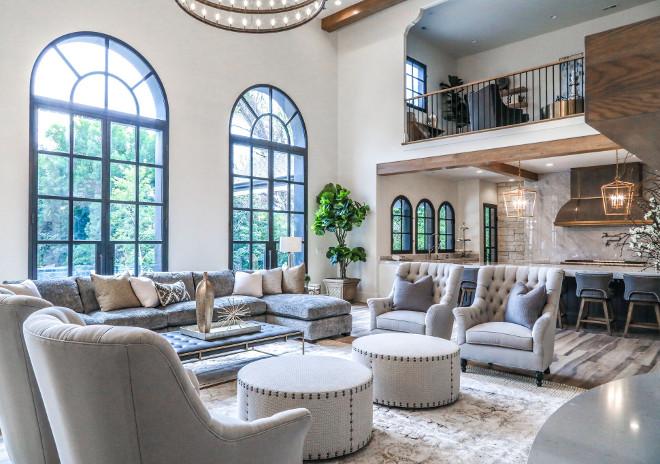 Open Layout Living room. Open Layout Living room design Open Layout Living room. Open Layout Living room #OpenLayoutLivingroom Tree Haven Homes. Danielle Loryn Design