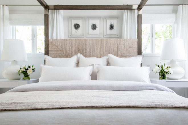 White Bedding Ideas. Crisp White Bedding Ideas. White Bedding Ideas. White Bedding Ideas #WhiteBedding #WhiteBeddingIdeas Chango & Co.
