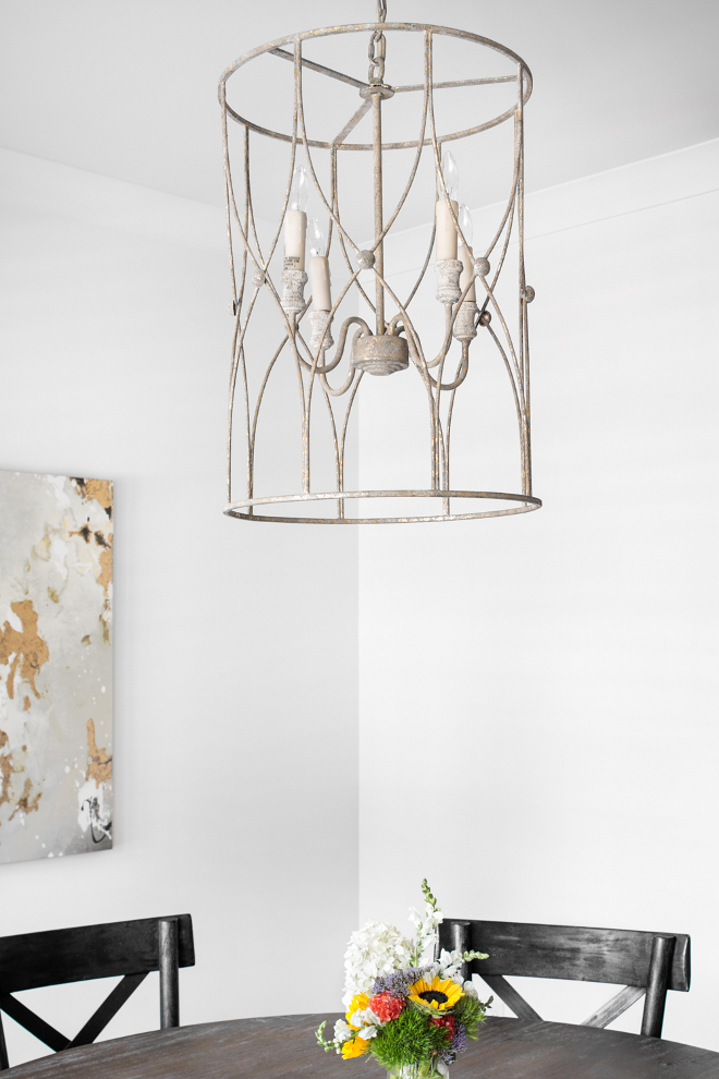 Dining room Lighting. Dining room Lighting. A stunning addition to the foyer or over a large dining table, this fixture is crafted of iron with a geometric cagework design and antiqued finish Dining room Lighting. Dining room Lighting. Dining room Lighting #Diningroom #Lighting Willow Homes