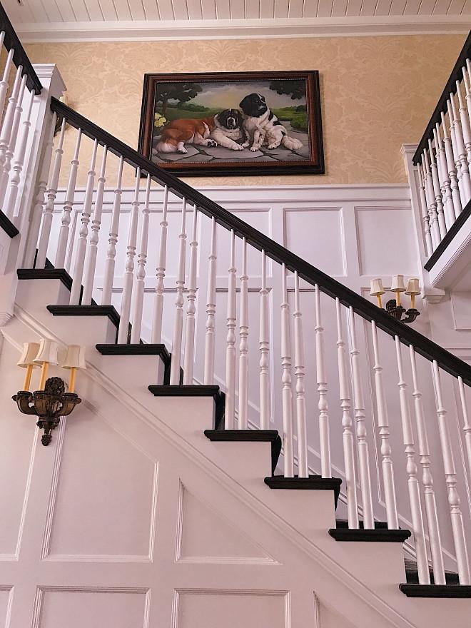 Antique stair spindles. Antique stair spindles. Antique stair spindle design ideas #Antiquestairspindles #stairspindles #stairspindledesignideas Beautiful Homes of Instagram @SweetShadyLane