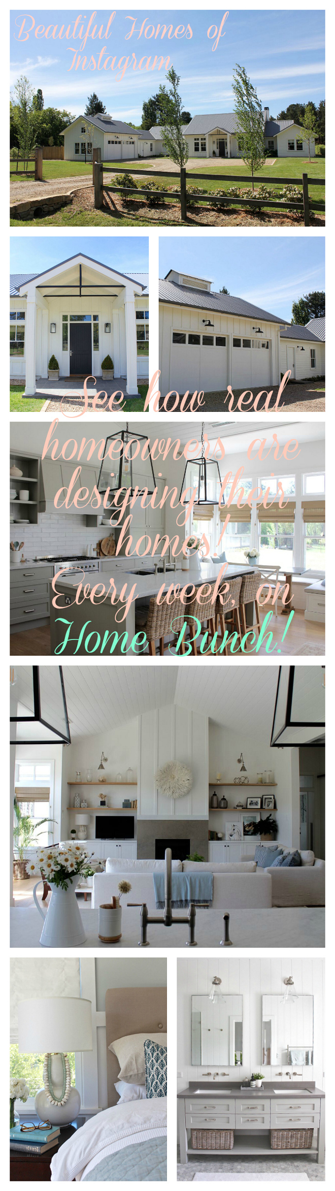 Beautiful Homes of Instagram. See how real homeowners are designing their homes. Every week on Home Bunch @urban_farmhouse_build