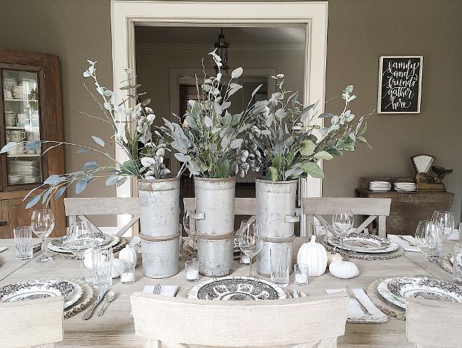 Farmhouse Metal Vases. Farmhouse Metal Vases. Farmhouse Metal Vases Zinc Farmhouse Metal Vases #Farmhouse #MetalVases Beautiful Homes of Instagram @my100yearoldhome
