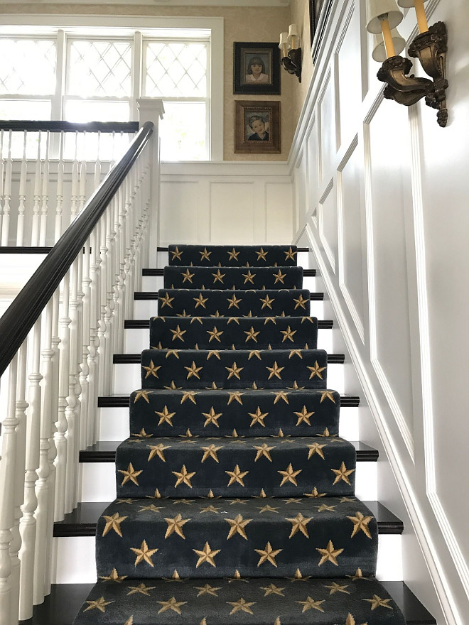 Staircase runner. Staircase runner #Staircaserunner Beautiful Homes of Instagram @SweetShadyLane