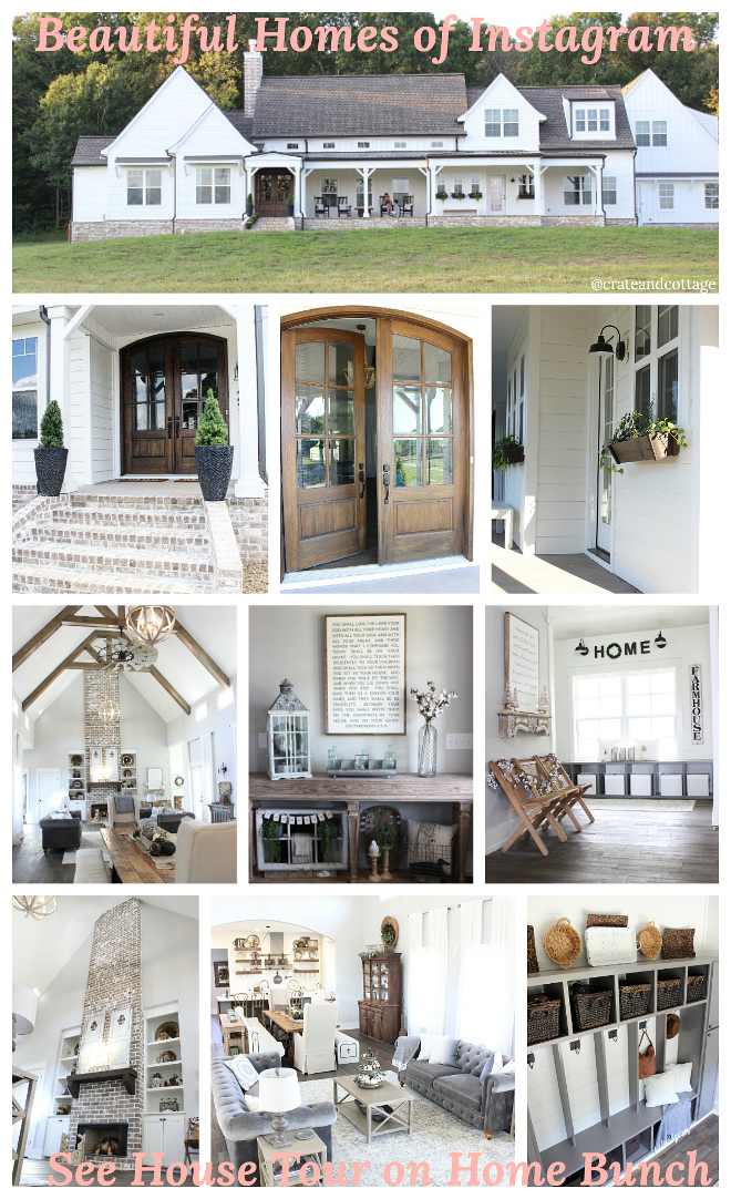Beautiful Homes of Instagram @crateandcottage