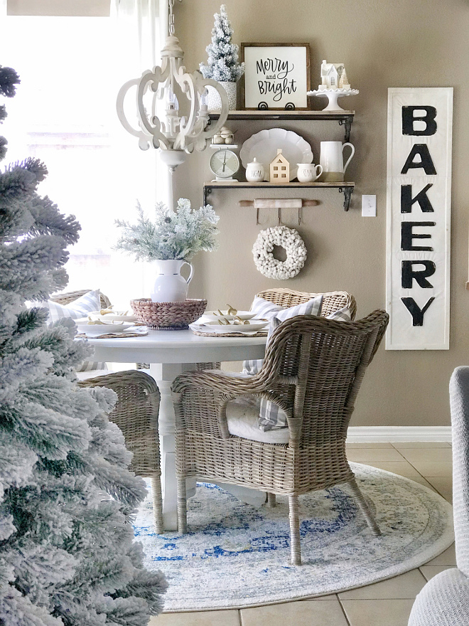 Christmas Breakfast Nook Christmas Breakfast Nook Decorating Ideas Christmas Breakfast Nook Christmas Breakfast Nook