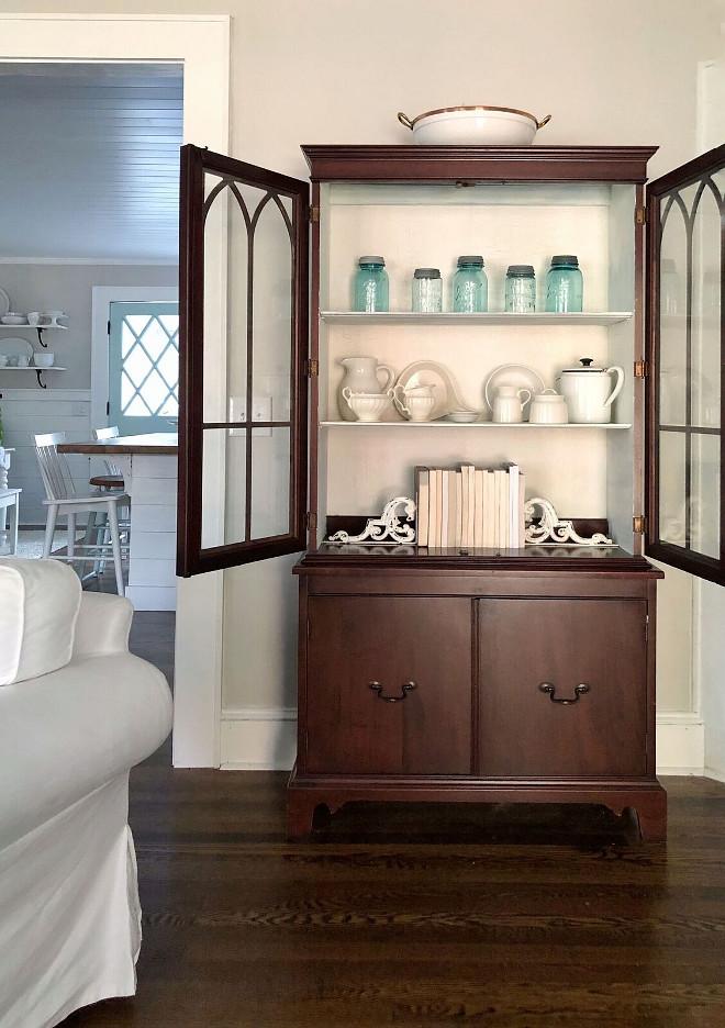 Living room Cabinet decor Farmhouse Living room Cabinet decor