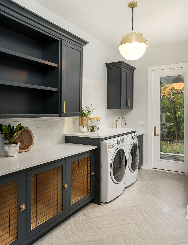 Modern Farmhouse laundry room with charcoal black cabinets Modern Farmhouse laundry room with charcoal black cabinets Modern Farmhouse laundry room with charcoal black cabinets Modern Farmhouse laundry room with charcoal black cabinets #ModernFarmhouselaundryroom #Farmhouselaundryroom #charcoalblackcabinets #blackcabinets