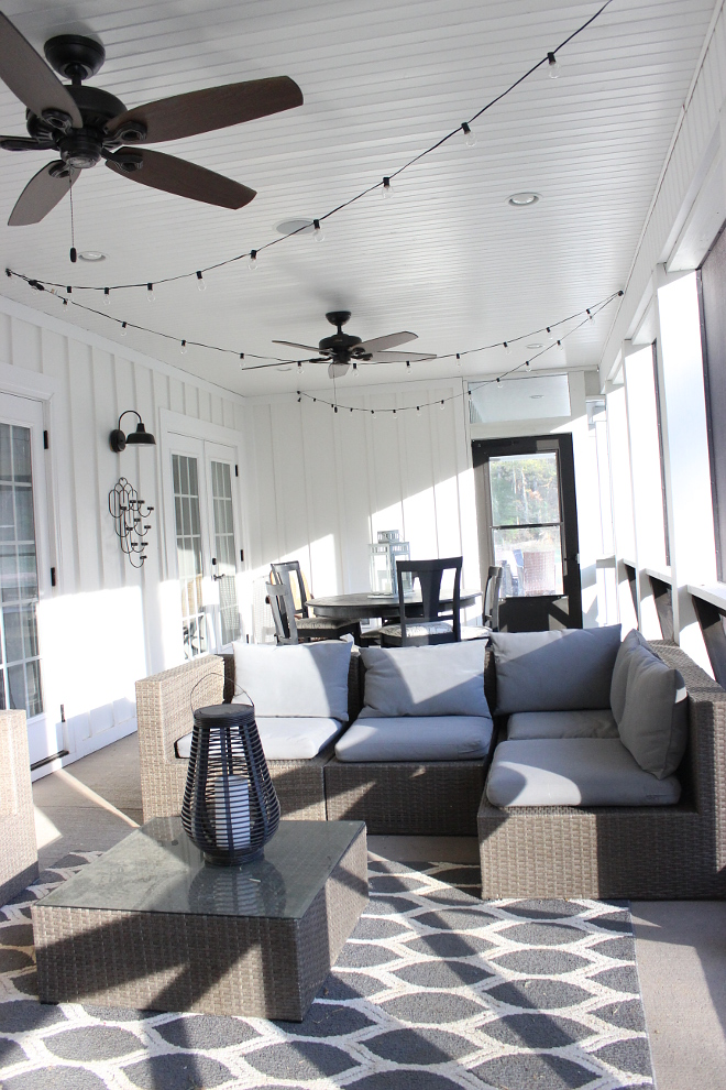 Porch String Lights Porch String Lights Porch String Lights Porch String Lights Porch String Lights #PorchStringLights Beautiful Homes of Instagram Home Bunch @crateandcottage