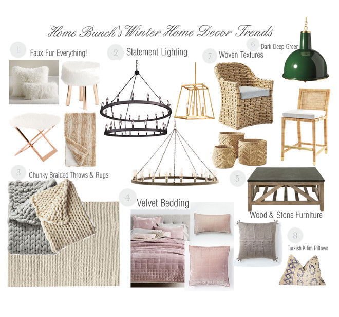 Winter Home Decor Trends