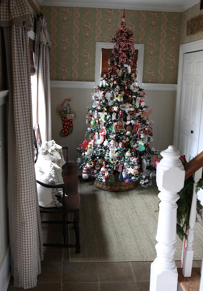 Christmas Foyer Decor Christmas Tree
