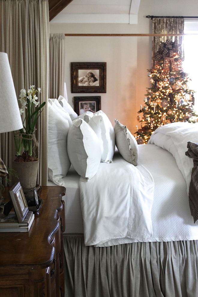 Master bedroom Christmas tree