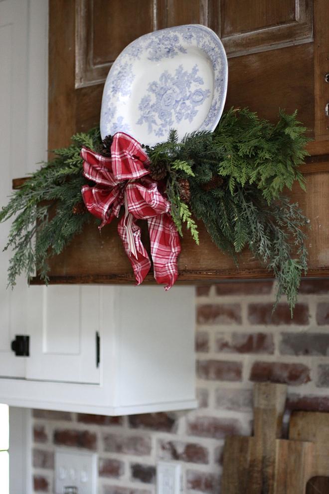Christmas hood decor