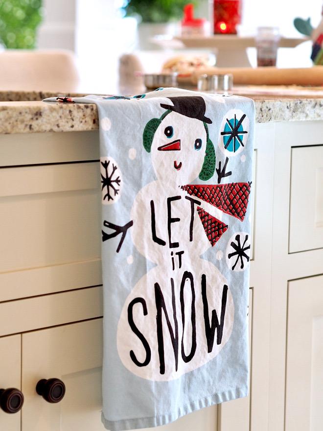 Christmas Dish Towel Adorable Christmas Dish Towel Christmas Dish Towel