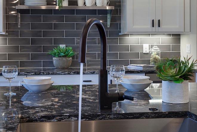 Flat Black Kitchen Faucet Black Kitchen Faucet Moen STo Matte Black #blackfaucet #mattefaucet #matteblackfaucet #kitchenfaucet Home Bunch